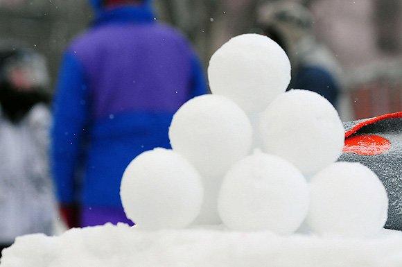 Юкигассэн (雪合戦): Так играют в снежки в Японии